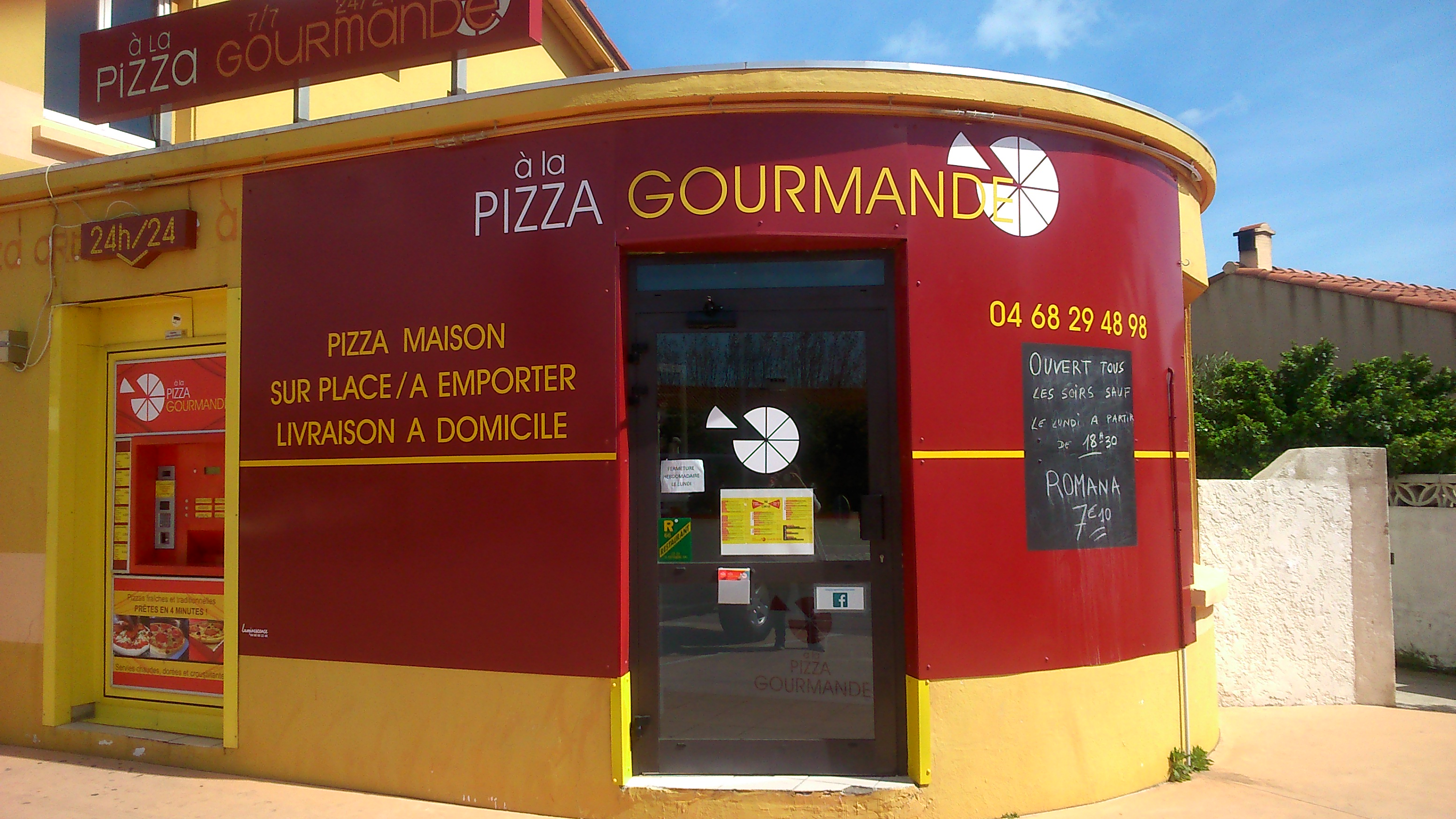 DistriPizza Pizza Gourmande